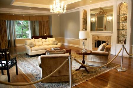 Boddy House interior