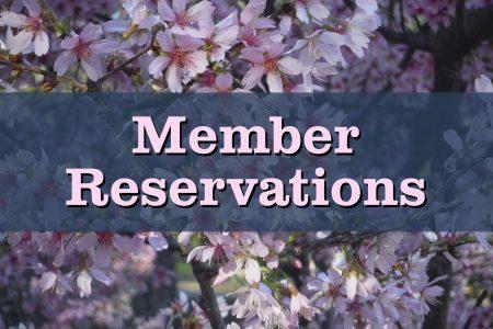Cherry Blossom Member Reservations